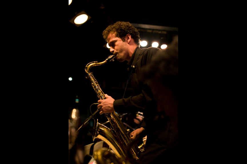 Paul Gillespie - Man playing saxophone