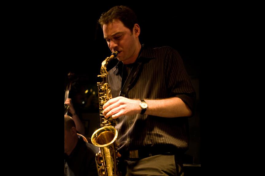Gordon Brown - Man playing saxophone